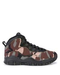 Chaussures de sport marron foncé Nike