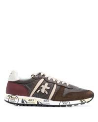 Chaussures de sport marron foncé Premiata
