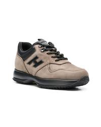 Chaussures de sport marron Hogan