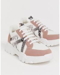 Chaussures de sport multicolores ASOS DESIGN