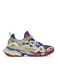 Chaussures de sport multicolores Balenciaga