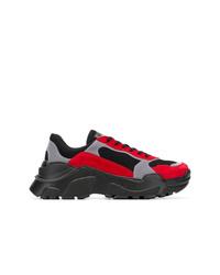 Chaussures de sport multicolores Balmain