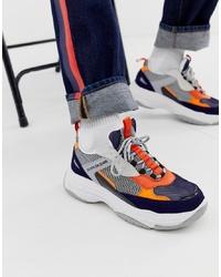 Chaussures de sport multicolores Calvin Klein