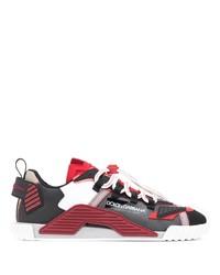Chaussures de sport multicolores Dolce & Gabbana