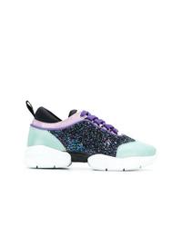 Chaussures de sport multicolores Emilio Pucci