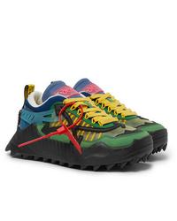 Chaussures de sport multicolores Off-White