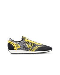 Chaussures de sport multicolores Prada