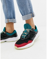 Chaussures de sport multicolores Pull&Bear