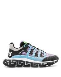 Chaussures de sport multicolores Versace