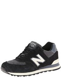 Chaussures de sport noires et blanches