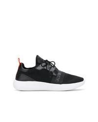 Chaussures de sport noires et blanches Calvin Klein Jeans