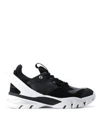 Chaussures de sport noires et blanches Calvin Klein