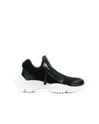 Chaussures de sport noires et blanches Cinzia Araia