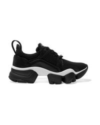 Chaussures de sport noires et blanches Givenchy