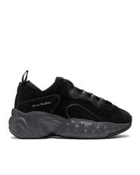 Chaussures de sport noires Acne Studios