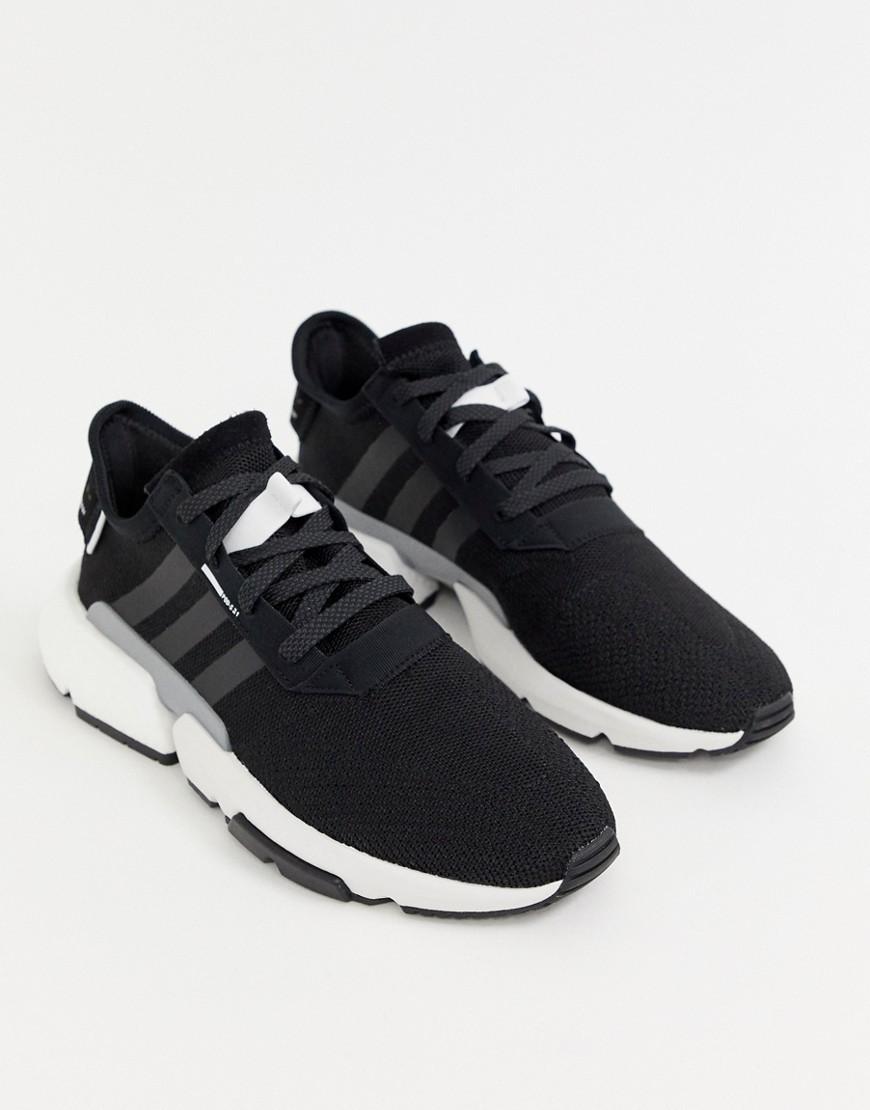 Chaussures de sport noires adidas Originals
