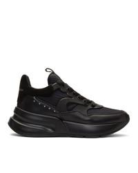 Chaussures de sport noires Alexander McQueen