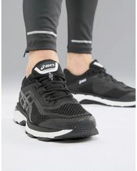 Chaussures de sport noires Asics