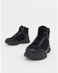 Chaussures de sport noires ASOS DESIGN