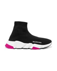 Chaussures de sport noires Balenciaga