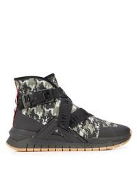 Chaussures de sport noires Balmain