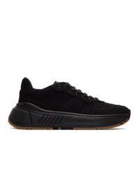 Chaussures de sport noires Bottega Veneta