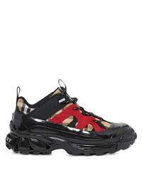 Chaussures de sport noires Burberry