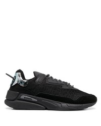 Chaussures de sport noires Diesel