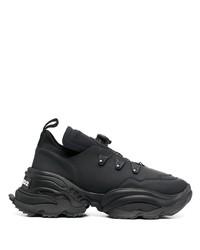 Chaussures de sport noires DSQUARED2