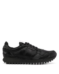 Chaussures de sport noires Emporio Armani