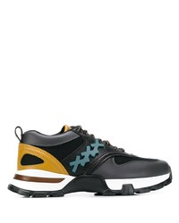 Chaussures de sport noires Ermenegildo Zegna