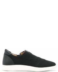 Chaussures de sport noires Giuseppe Zanotti Design