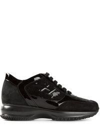 Chaussures de sport noires Hogan