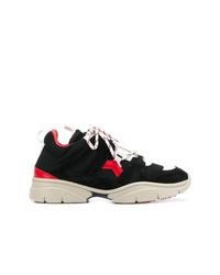 Chaussures de sport noires Isabel Marant