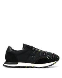Chaussures de sport noires Maison Margiela