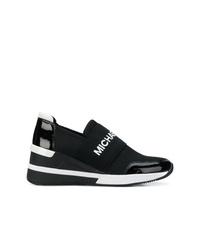 Chaussures de sport noires MICHAEL Michael Kors