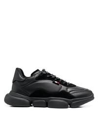 Chaussures de sport noires Moncler