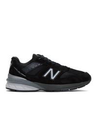 Chaussures de sport noires New Balance