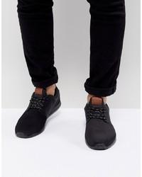 Chaussures de sport noires Pier One