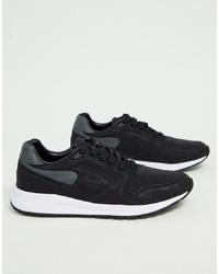Chaussures de sport noires Pull&Bear