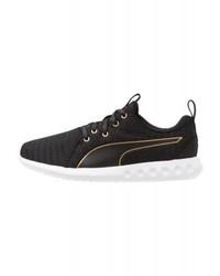 Chaussures de sport noires Puma
