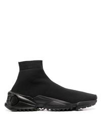 Chaussures de sport noires Salvatore Ferragamo