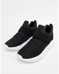Chaussures de sport noires Truffle Collection