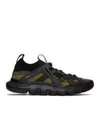 Chaussures de sport noires Z Zegna