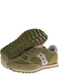 Chaussures de sport olive