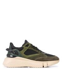 Chaussures de sport olive Buscemi