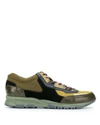 Chaussures de sport olive Lanvin