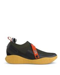 Chaussures de sport olive SWEA