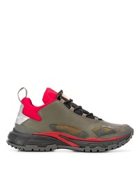 Chaussures de sport olive Valentino