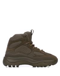 Chaussures de sport olive Yeezy